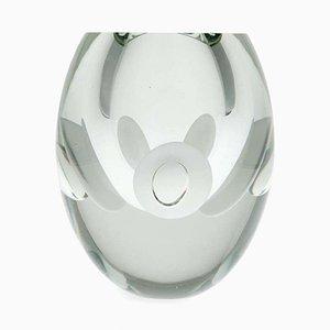 Vintage Claritas Glass Vase by Timo Sarpaneva