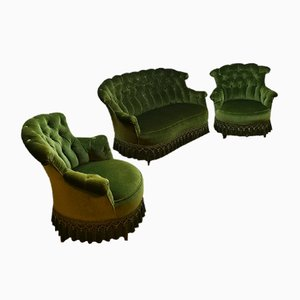 Vintage Velour Seating Group