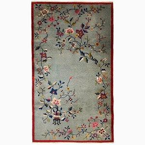 Handgemachter Chinesischer Art Deco Teppich, 1920er