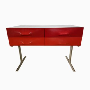 DF 2000 Double-Sided Dresser with 6 Drawers by Raymond Loewy for Doubiski Frères, 1960s