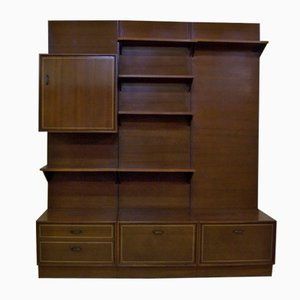 Mid-Century Dutch Wall Unit from Kempkes Meubelen
