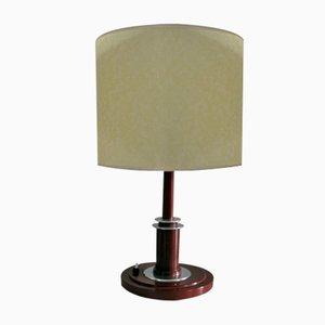 Lámpara de mesa Bauhaus Art Déco, años 30