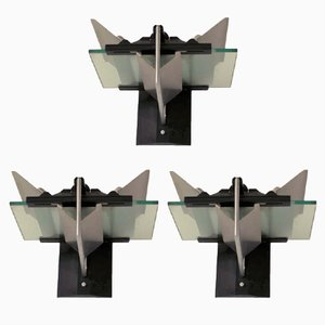 Wall Sconces by Giovanni Grignani, 1980s, Set of 3