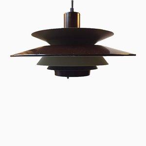 Lampe à Suspension à Trois Niveaux de Vitrika, Danemark, 1970s