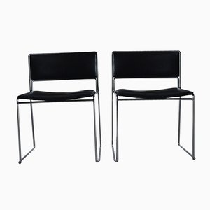 Vintage German Desk Chairs by Preben Fabricius & Jørgen Kastholm for Kill International, Set of 2