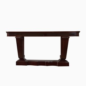 Art Deco Rosewood Console Table