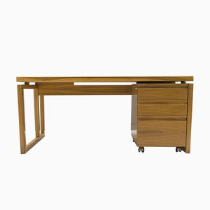 Desk with Rolling Drawer Compartment from WK Möbel, 1960s