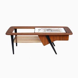 Table d'Appoint Nr. 210 par Alfred Hendricks pour Belform, Belgique, 1960s