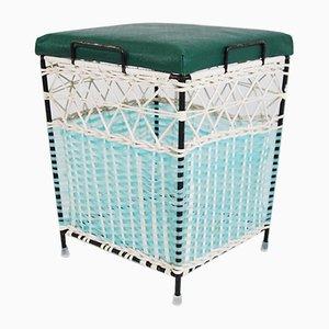 Polish Woven Basket Seat, 1960s