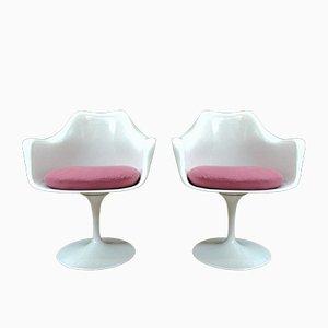 Poltrone Tulip di Eero Saarinen per Knoll International, anni '50, set di 2