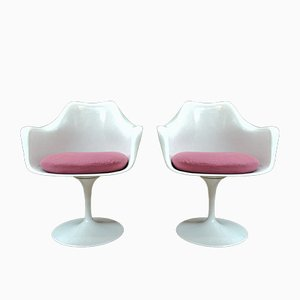 Tulip Sessel von Eero Saarinen für Knoll International, 1950er, 2er Set