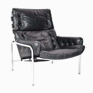 Vintage Nagoya Leather Lounge Chair by Martin Visser for Spectrum