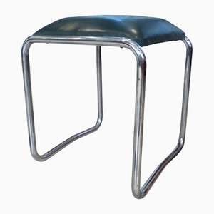 German Bauhaus Tubular Steel Stool from Mauser Werke, 1930s