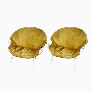 German Lounge Chairs from Lusch & Co., Set of 2