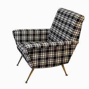 Italian Checkered Armchair