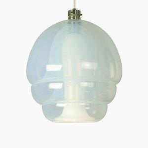 Lampada a sospensione LS134 Rakarmatur di Carlo Nason per Mazzega, 1969