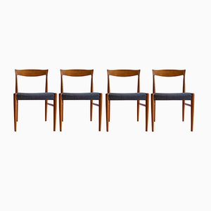 Danish Mid-Century Teak Chairs from Soro Stolefabrik, 1960s, Set of 4