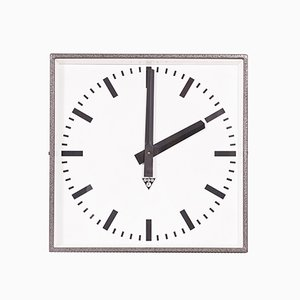 Industrial Czech C 401 Wall Clock from Pragotron, 1980s