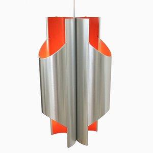 Lampada Pantre Art Space Age di Bent Karlby per Lyfa, Danimarca, anni '60