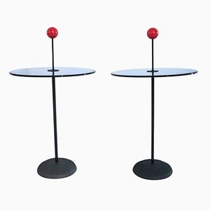 Italian Side Tables by Pierluigi Cerri for Fontana Arte, 1980s, Set of 2