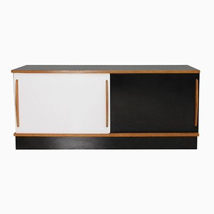 Mid-Century French Cansado Enfilade by Charlotte Perriand for Steph Simon, 1958