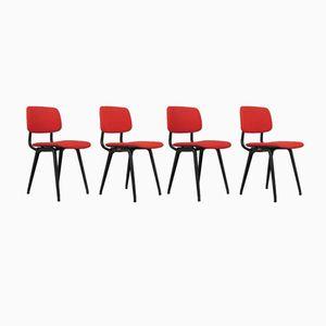 Vintage Revolt Stühle von Friso Kramer für Ahrend De Cirkel, 4er Set
