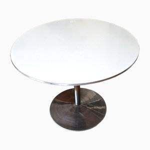 Vintage White Table by Verner Panton for Fritz Hansen, 1984
