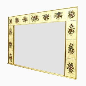 Large Decorative Wall Mirror, 1980s