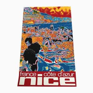 Poster Nice par Jean-Pierre Augerot pour Roger Klein, 1972