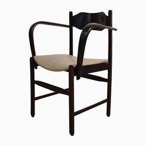 Italienischer Art Deco Armlehnstuhl