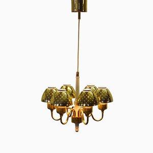 Lámpara de araña T-526 vintage de Hans-Agne Jakobsson