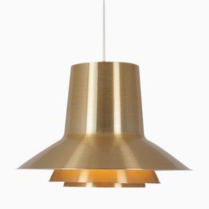 Lampada a sospensione vintage di Svend Middelboe per Nordisk Solar