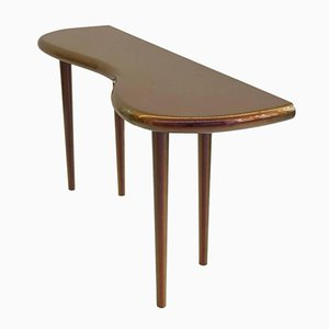 Table Console Laquée Andrienne avec Peinture Caméléon Philippe Cramer, 2006