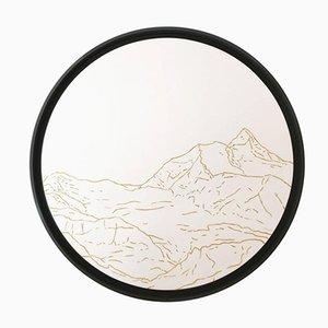 Tapisserie Jungfrau Paysages Dorés avec Fil Doré par Philippe Cramer, 2012