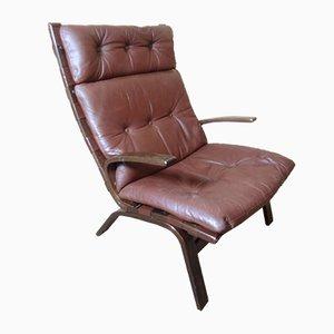 Chaise Longue Siesta Vintage par Ingmar Relling pour Westnofa, Danemark 1970s