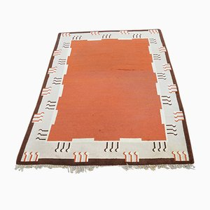 Large Art Deco Pile Rug