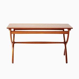 Cross Leg Tisch von Ole Wanscher für Rud. Rasmussen, 1951