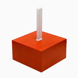 Jagati Table Lamp in Wood by Ettore Sottsass for Memphis, 2000