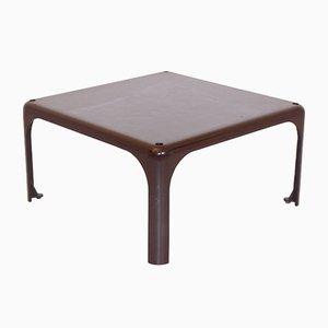 Mesa de centro Demetrio 45 marrón de Vico Magistretti para Atemide, años 60