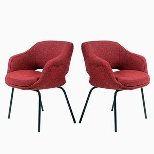 Small Armchairs by Olli Mannermaa for Cassina, 1960s, Set of 2