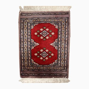 Handgemachter Usbekischer Vintage Bukhara Teppich, 1920er