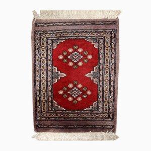 Vintage Uzbek Bukhara Handmade Rug, 1920s