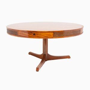 Mid-Century Palisander Drum Tisch von Robert Heritage für Archie Shine, 1960er