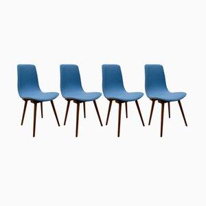 A-6150 Esszimmerstühle von Fameg, 1960er, 4er Set