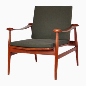Model FD 133 Easy Chair by Finn Juhl for France & Daverkosen, 1954