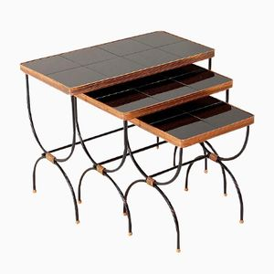 Nesting Tables by Jacques Adnet, 1930s