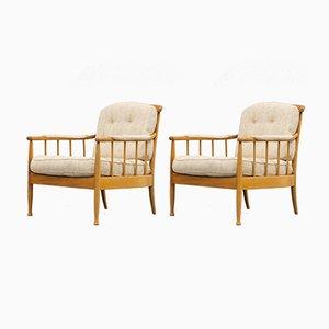 Skandinavische Vintage Skrindan Sessel von Kerstin Hörlin-Holmquist für OPE Möbler, 2er Set