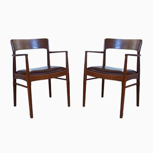 Danish Teak Armchairs from K.S. Møbler, 1960s, Set of 2