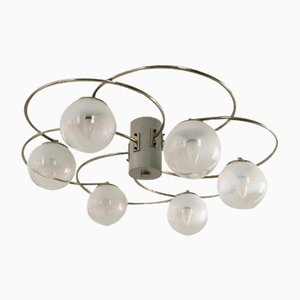 Italian Chandelier by Pia Guidetti Crippa for Lumi, 1970s