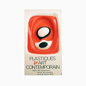 Plastic Poster by François Cante Pacos, 1970